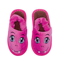 """Kids Monster-Slipper """"pink"""""""