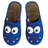Monster Slipper Blau